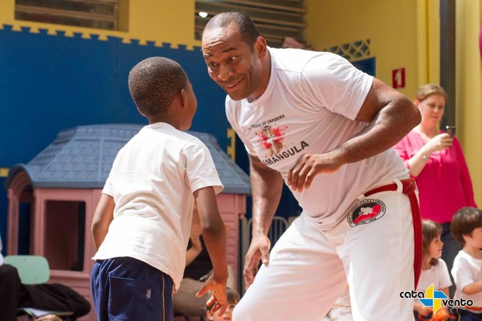 EQUIPE CATAVENTO: Rubens Xavier Faria, professor de capoeira