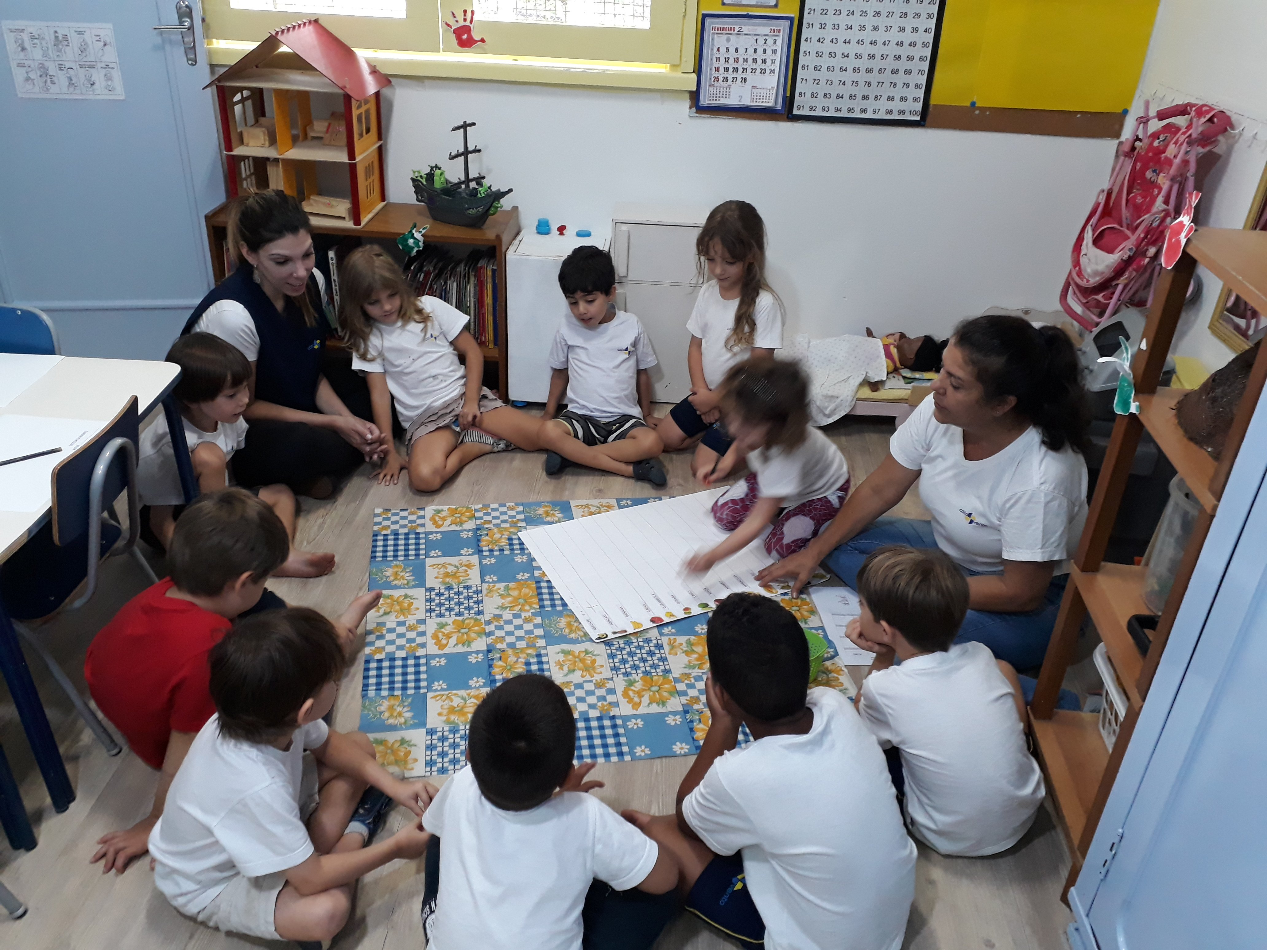 Volta às aulas na Catavento: tempo de acolhida às famílias