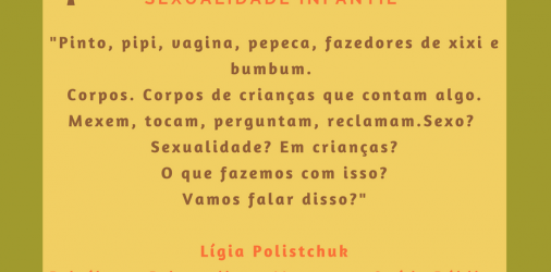 RODA DE CONVERSA SOBRE SEXUALIDADE INFANTIL
