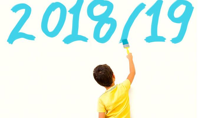 Calendário de encerramento de ano