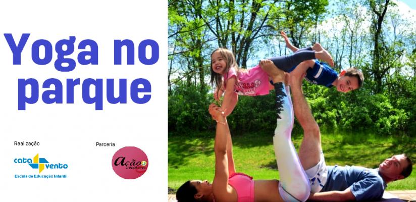 Yoga para crianças e famílias