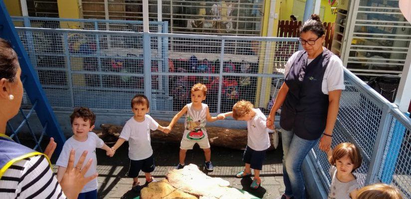 :: Turminha do G1 lembra do Curupira e se sensibiliza com corte de árvore na Escola ::