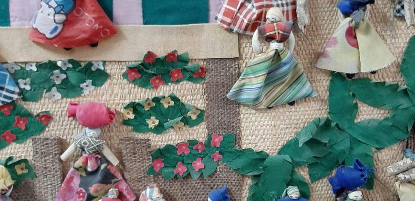 Exposição na sala de artes celebra o Folclore