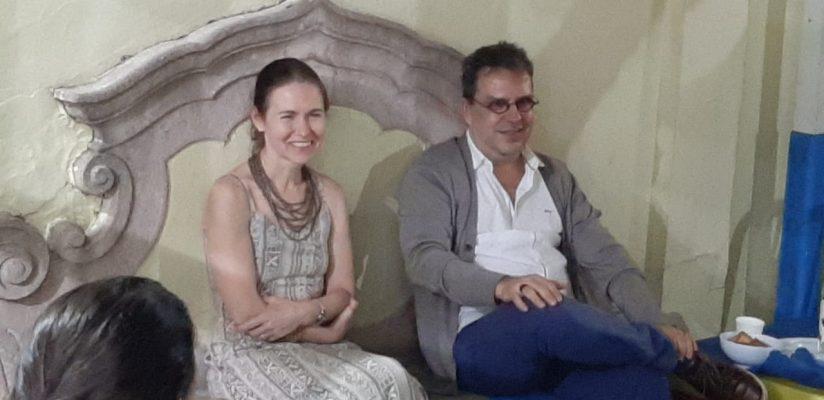 Pediatras conversam com comunidade Catavento sobre primeira infância